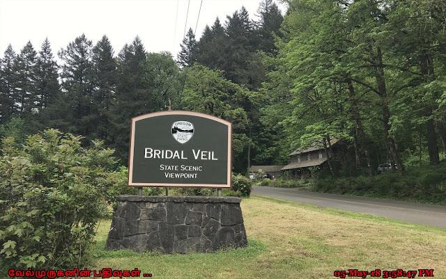 Bridal Veil Falls Scenic Point
