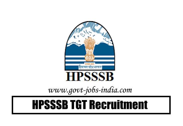 HPSSSB TGT Recruitment 2020 – 943 TGT, MLT, Steno-Typist & Various Vacancy – Last Date 25 April 2020