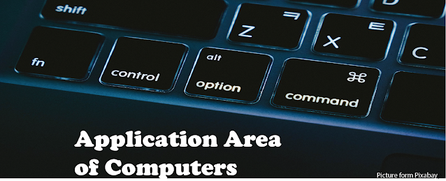 Application area of computer
