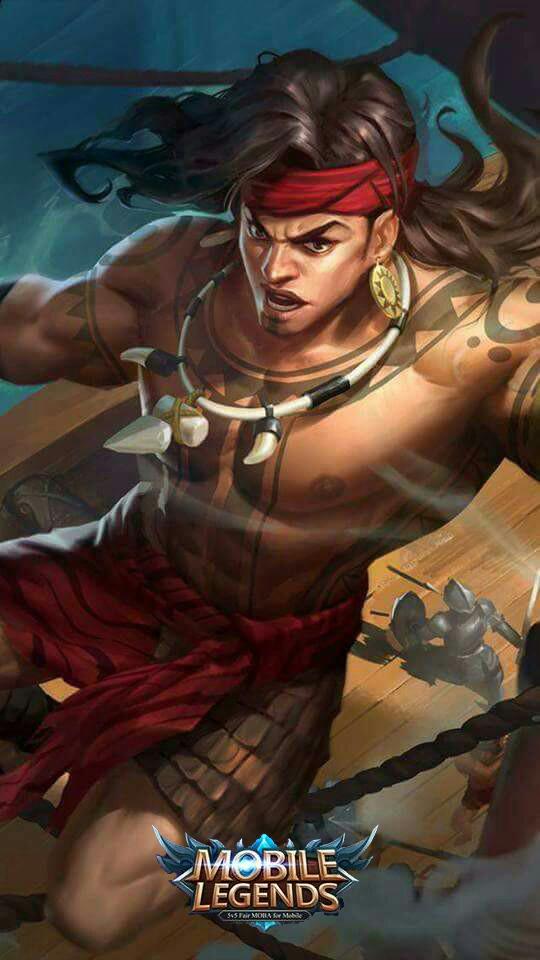 Wallpaper Lapu-Lapu Great Chief Skin Mobile Legends HD for Mobile