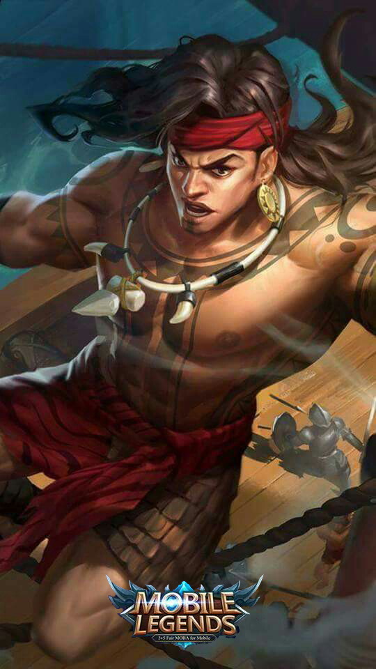 Wallpaper Lapu-Lapu Great Chief Skin Mobile Legends HD for Mobile - Hobigame.net