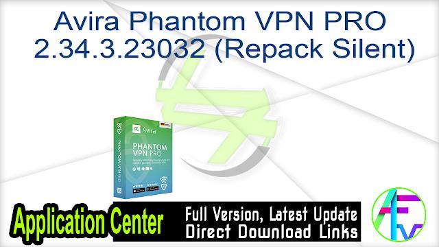 Avira Phantom VPN PRO 2.34.3.23032 (Repack Silent)