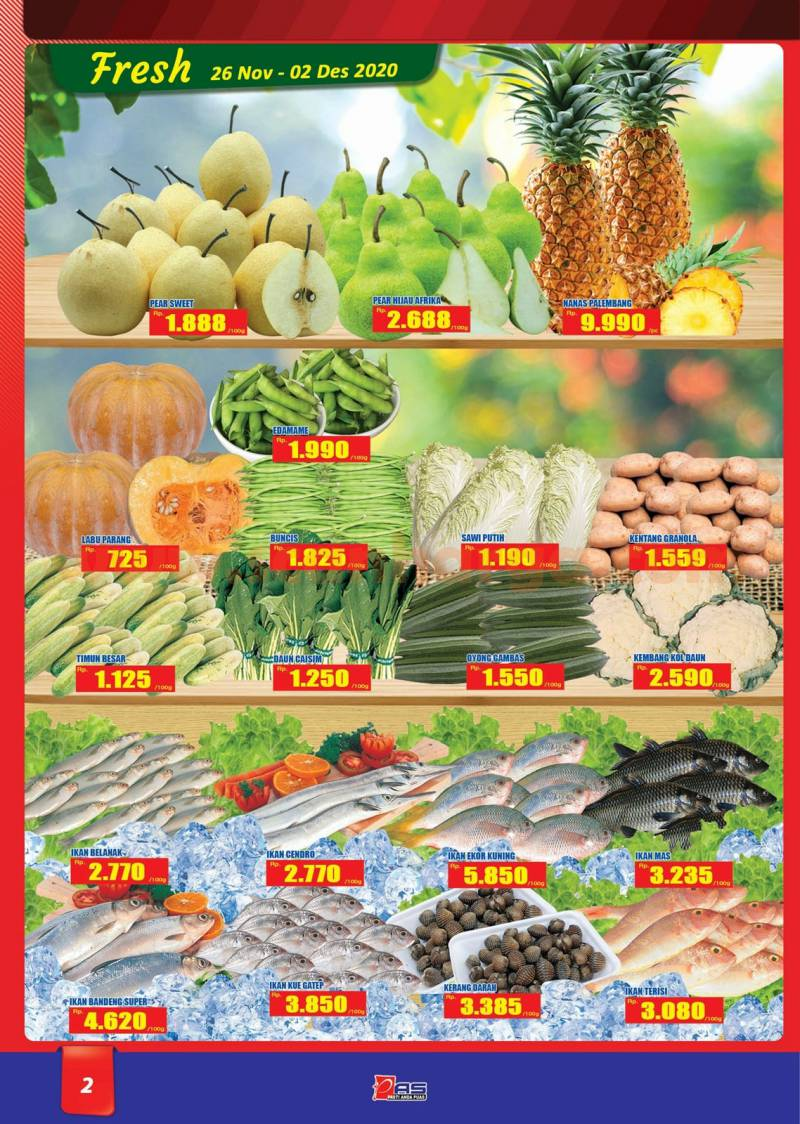 Katalog Promo Hari Hari Pasar Swalayan 26 November - 9 Desember 2020 2