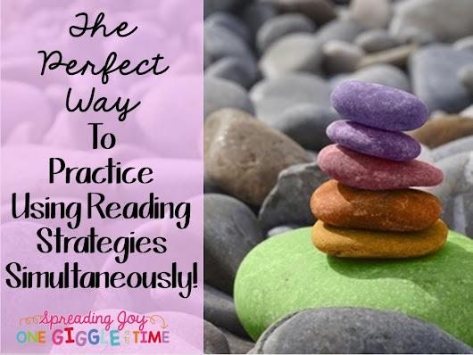 The Perfect Way To Practice Using Reading Strategies Simultaneously!