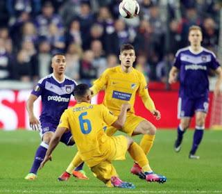 LIVE: ANDERLECHT 1-0 ΑΠΟΕΛ (2-0) Τέλος του ονείρου