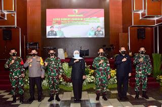 Giat Pisah Sambut Pangdam V/Brawijaya Sambut Mayjen TNI Suharyanto