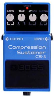 Boss CS-3 Compressor Sustainer Pedal: Controls and Features