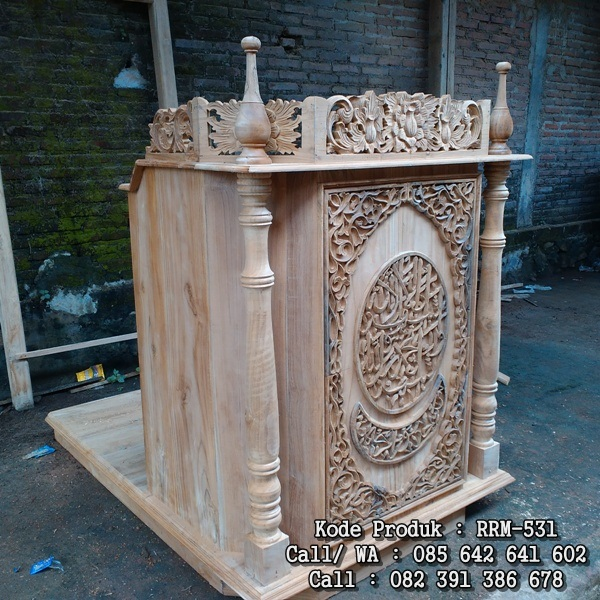 podium mimbar masjid