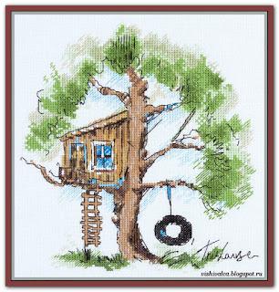 "PS-1952 ""Домик на дереве"" Панна"