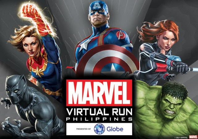 Globe Marvel Virtual Run
