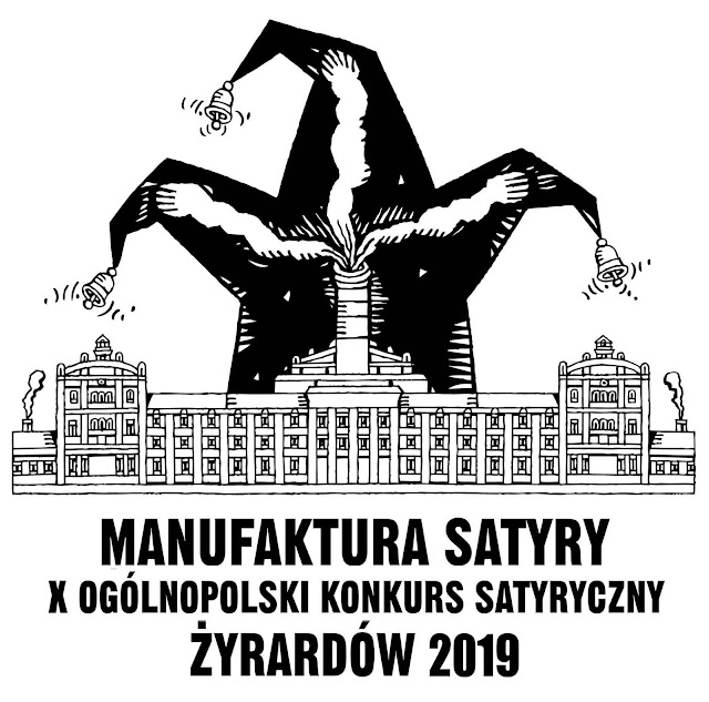 "International Cartoon Exhibition  ""MANUFAKTURA SATYRY"", Zyrardow, Poland"