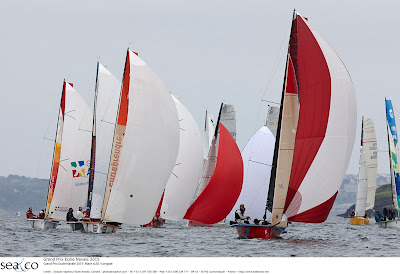 Grand Prix de l'ecole navale cette semaine.