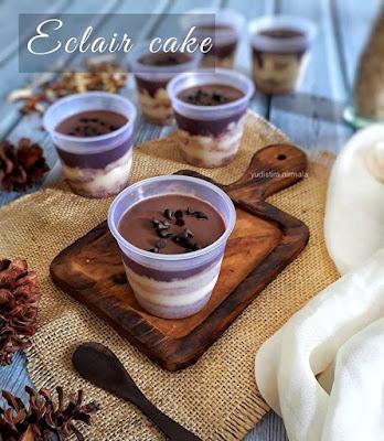 Resep Eclair Cake Dessert Spesial Oleh Yudistira Nirmala