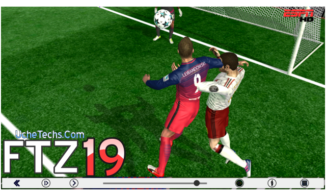 Download fts mod pes 19 apk data obb | First Touch Soccer