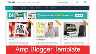 What are AMP Blogger templates ?