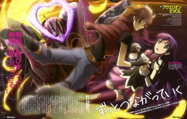Aquarion Evol - Best Fantasy Romance Anime list