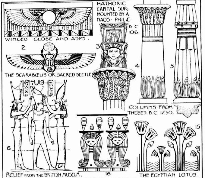 Ancient Egyptian Ornaments