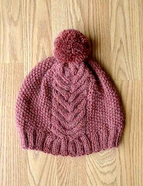 Victory Hat – Free Knitting Pattern