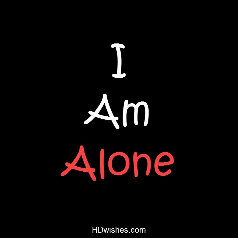 I am Alone Black DP
