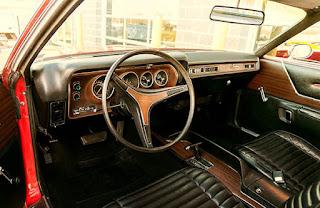 1972 Plymouth Satellite Sebring 318 Cabin Interior Picture