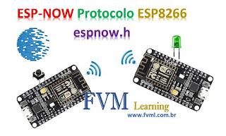 O que é ESP-NOW - E como Funciona? - Código exemplo explicado!!!