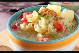 Resep Cara Membuat Sop Kikil sangat Enak Dan sangat Lezat khas Daerah Surabaya