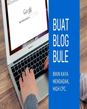 JASA PEMBUATAN BLOG BULE SEMI WALLPAPER 80 ARTIKEL HIGH CPC FOR ADSENSE