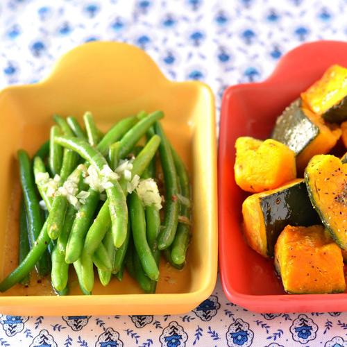 調理した野菜の写真