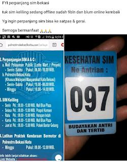 Info Perpanjangan SIM