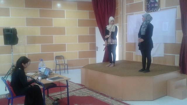 النادي الادبي و الفني لثانوية ابن الاثير عرباوة يحتفل باليوم العالمي للارض