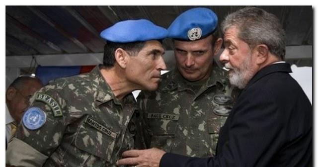 VIXI!!!! Coronel desmascara General pró Lula e o põe em seu devido lugar