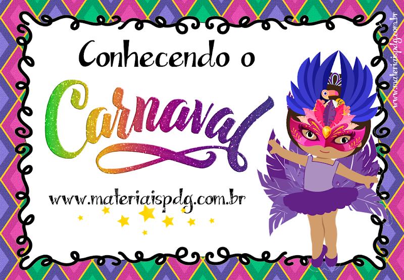 CONHECENDO O CARNAVAL - PDF