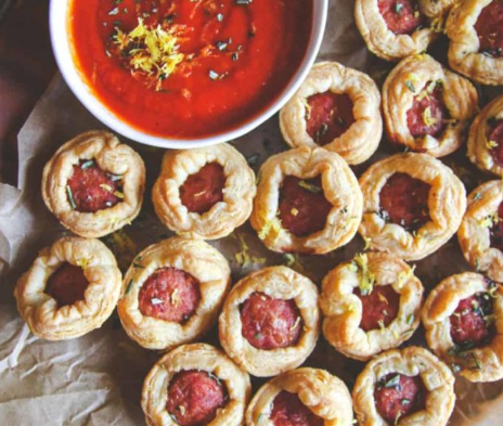 Sausage Puff Pastry