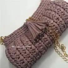 Cartera Nathalia a Crochet