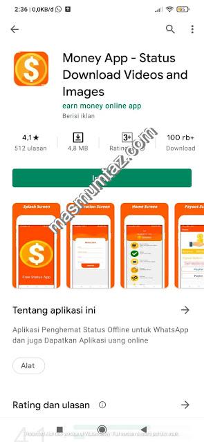 cara mendapatkan uang di money app