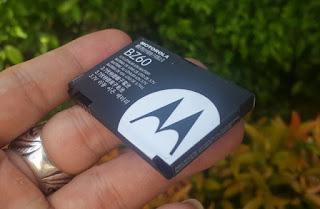 Baterai Motorola BZ60 Original 900mAh Razr V3xx Razr V6 Razr Maxx