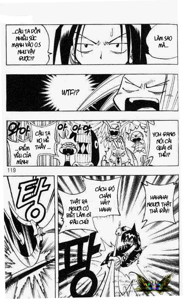 Shaman King [Vua pháp thuật] chap 59 trang 13