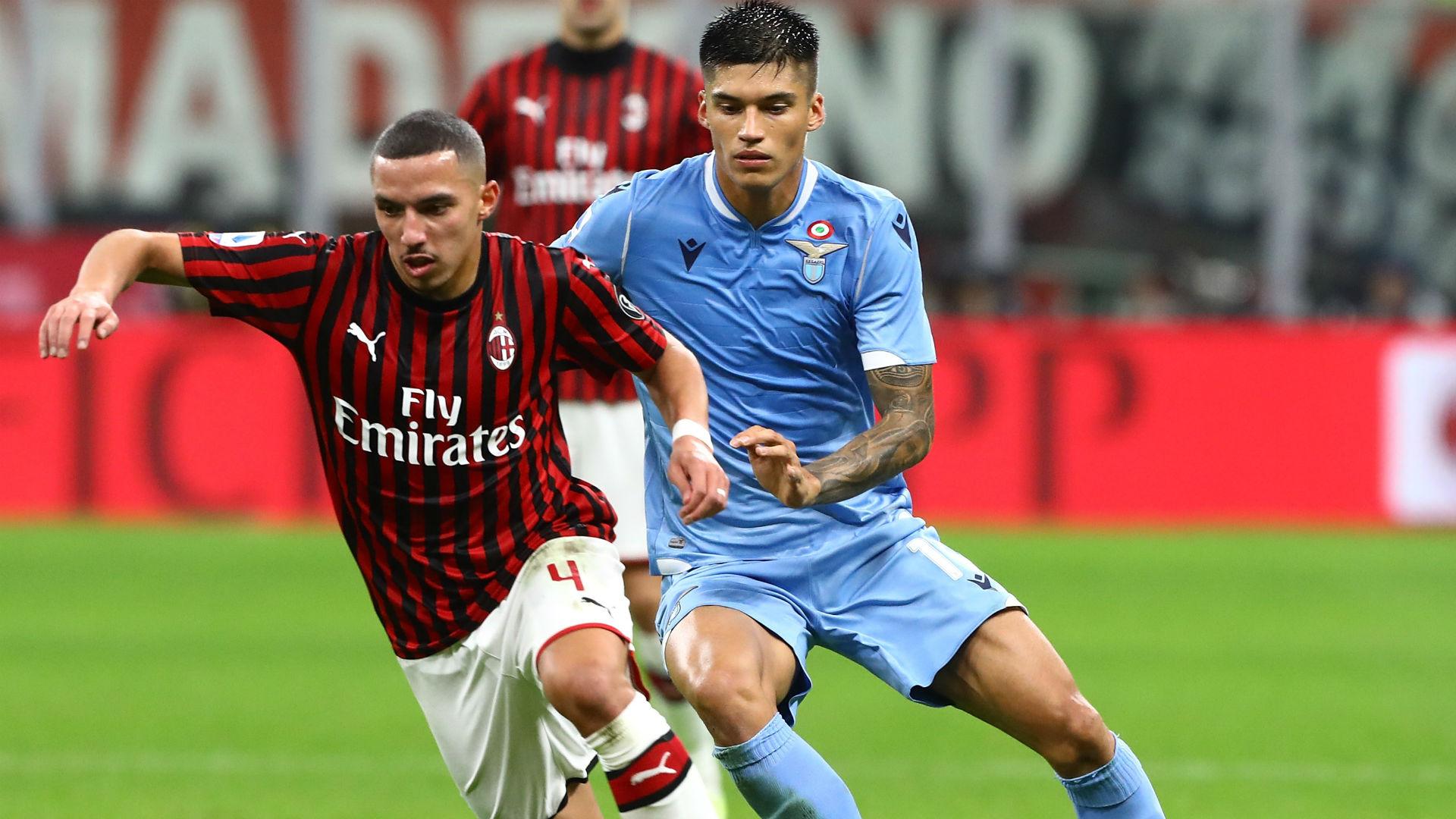مباراة ميلان ولاتسيو في الدوري الايطالي