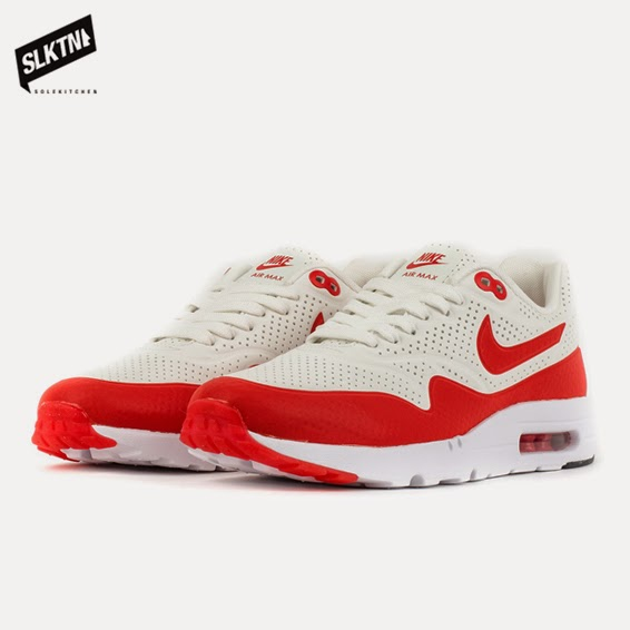 new style d4bd4 3896c Nike - Air Max 1 Ultra Moire OG - summit white challenge red