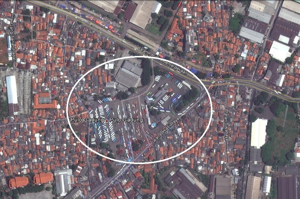 INFO JAKARTA: TERMINAL BIS PULOGADUNG, JAKARTA