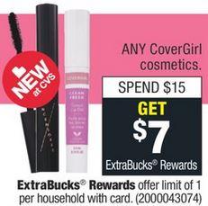 FREE Covergirl Mascara CVS Deal 1-19-1-25