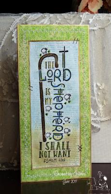 ODBD My Shepherd, Card Created by Sabrina Friel aka cook22