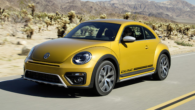 Volkswagen Beetle Dune at The Los Angeles Auto Show