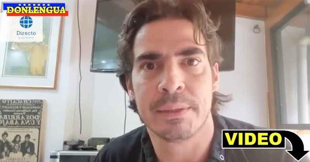 Actor Luis Gerónimo Abreu acusado de abusar una mujer bajo un puente de Petare