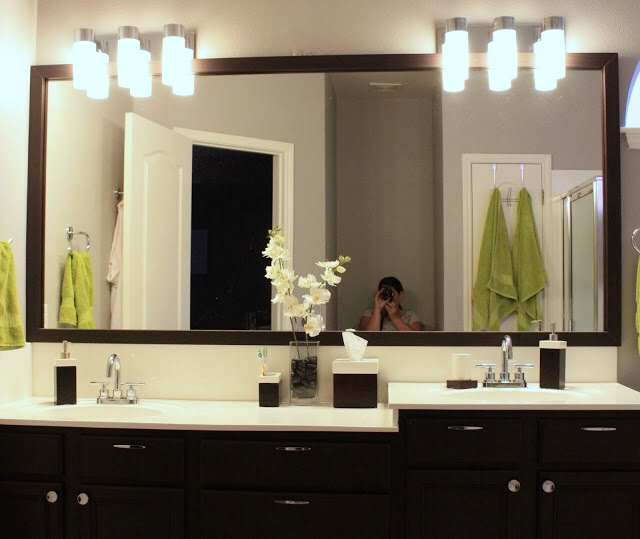 bathroom makeover on a budget from builder grade to contemporary