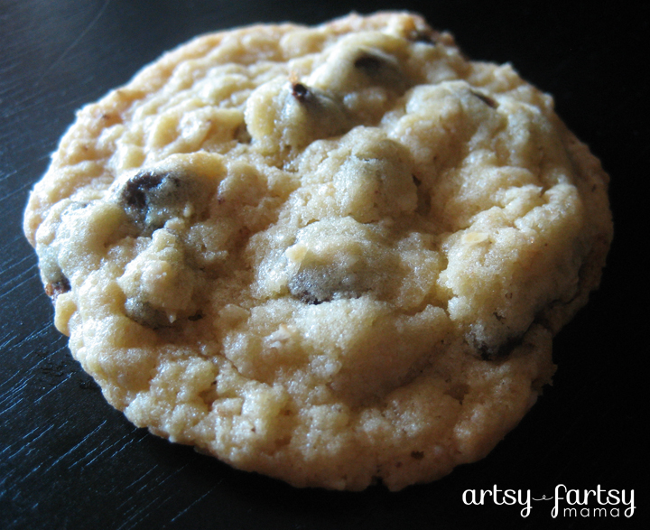 Cake Mix Oatmeal Chocolate Chip Cookies