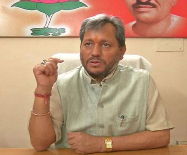 Tirath Singh Rawat will be new CM  of Uttarakhand
