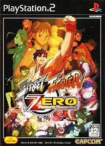 Street Fighter Zero Fighter's Generation Ps2 ISO (NTSC-J)