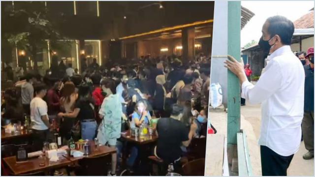 Kerumunan Holywings, Rocky Sebut gegara Jokowi Masih Mondar-mandir