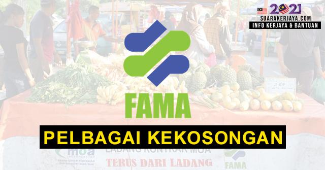 Lembaga Pemasaran Pertanian Persekutuan (FAMA) Buka Pengambilan Pelbagai Kekosongan Jawatan Terkini ~ Mohon Sebelum 16 April 2021
